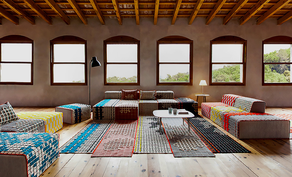 Bandas Space Collection by Patricia Urquiola for Gan Rugs