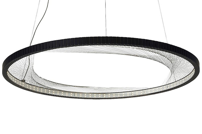 Interlace LED Suspension by Tech Lighting.