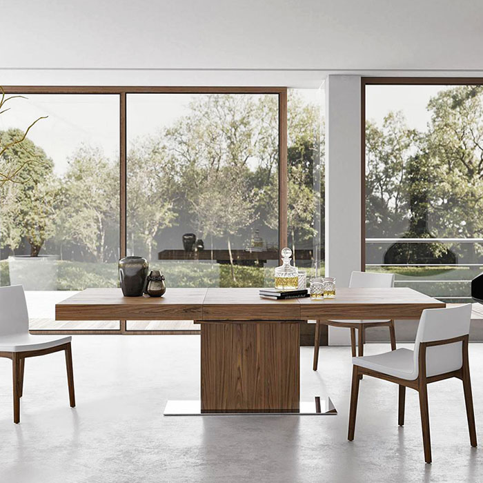 Astor Extension Dining Table by Modloft.