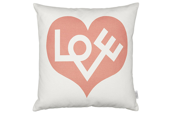 Love Graphic Pillow by Vitra