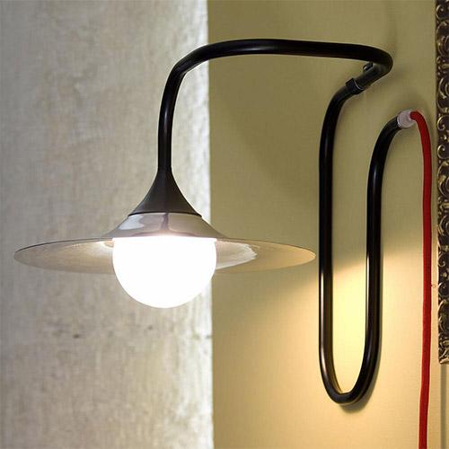 Turbaya Table/Wall Lamp By Krisztian Mecs for Intueri Light