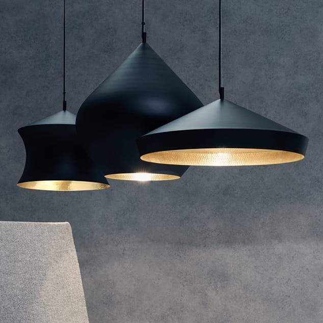 Beat Light Collection by Tom Dixon.
