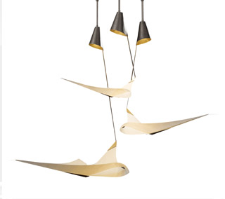 Icarus 3-Light Pendant by Hubbardton Forge