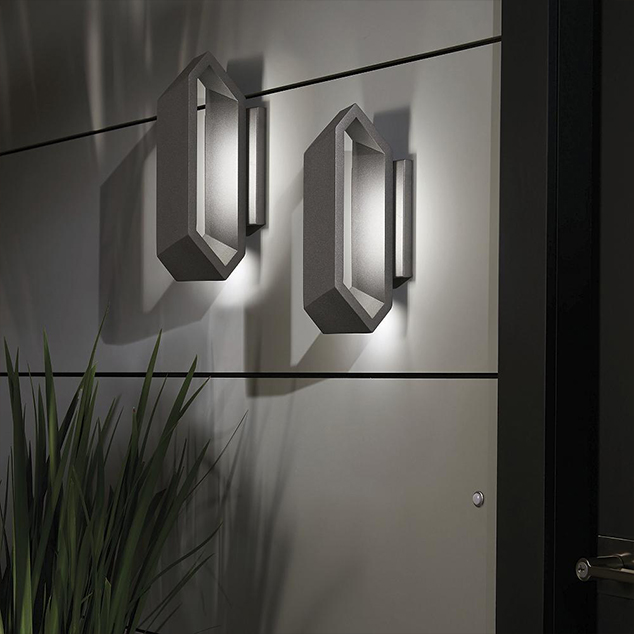 10 Ultra-Modern Outdoor Wall Lights