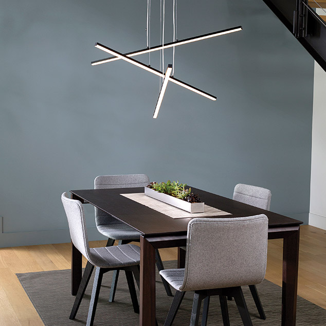 Stix Collection by Robert Sonneman for SONNEMAN Lighting.