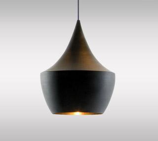 Beat Light Black Pendant – Fat By Tom Dixon