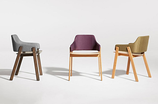 Clutch Dining Chair by Blu Dot