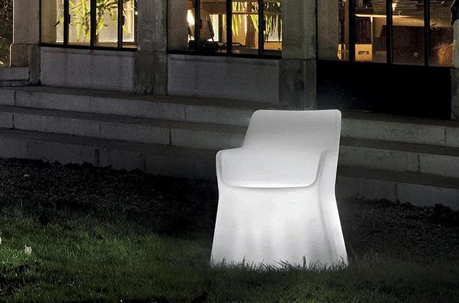 Phantom Illuminated Armchair by Domitalia