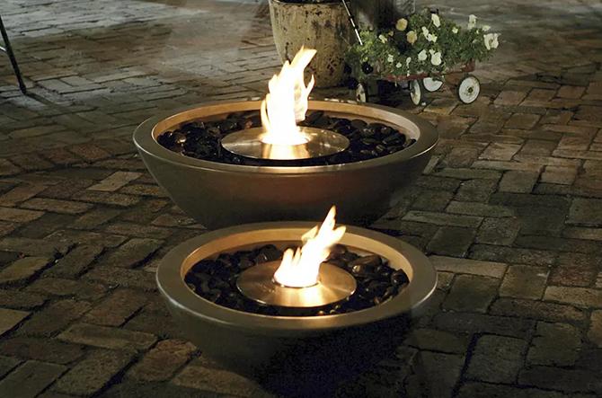 Mix Fire Bowl by EcoSmart Fire