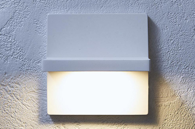 Ledge LED Indoor/Outdoor Wall Scone by Rich Brilliant Willing