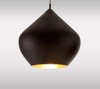 Beat Light Black Pendant – Stout By Tom Dixon