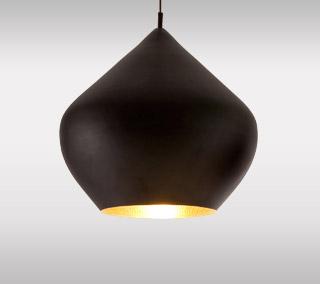 Beat Light Black Pendant – Stout By Tom Dixon