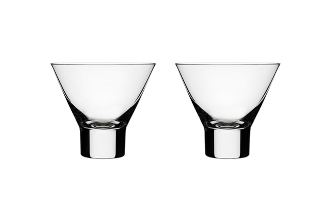 Aarne Set of 2 Cocktail Glasses by Iittala