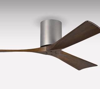 Irene 3-Blade Hugger Ceiling Fan by Atlas