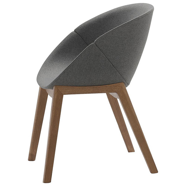 Coquille-L Chair by Domitalia