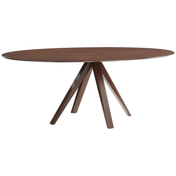 Nova Ellipse Dining Table by Saloom Furniture