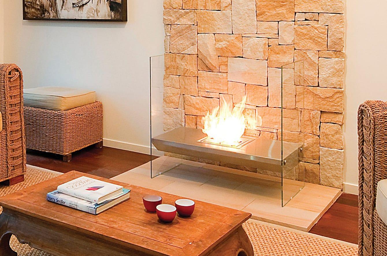 Igloo Fireplace by EcoSmart Fire.