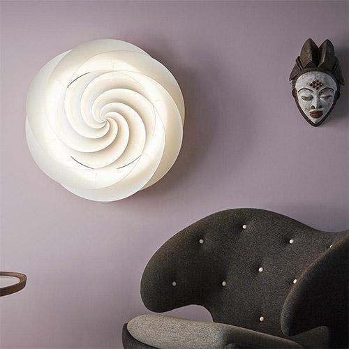 Swirl 1320 Ceiling/Wall Lamp by Le Klint