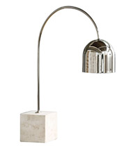 Travertine Base Dome Task Lamp