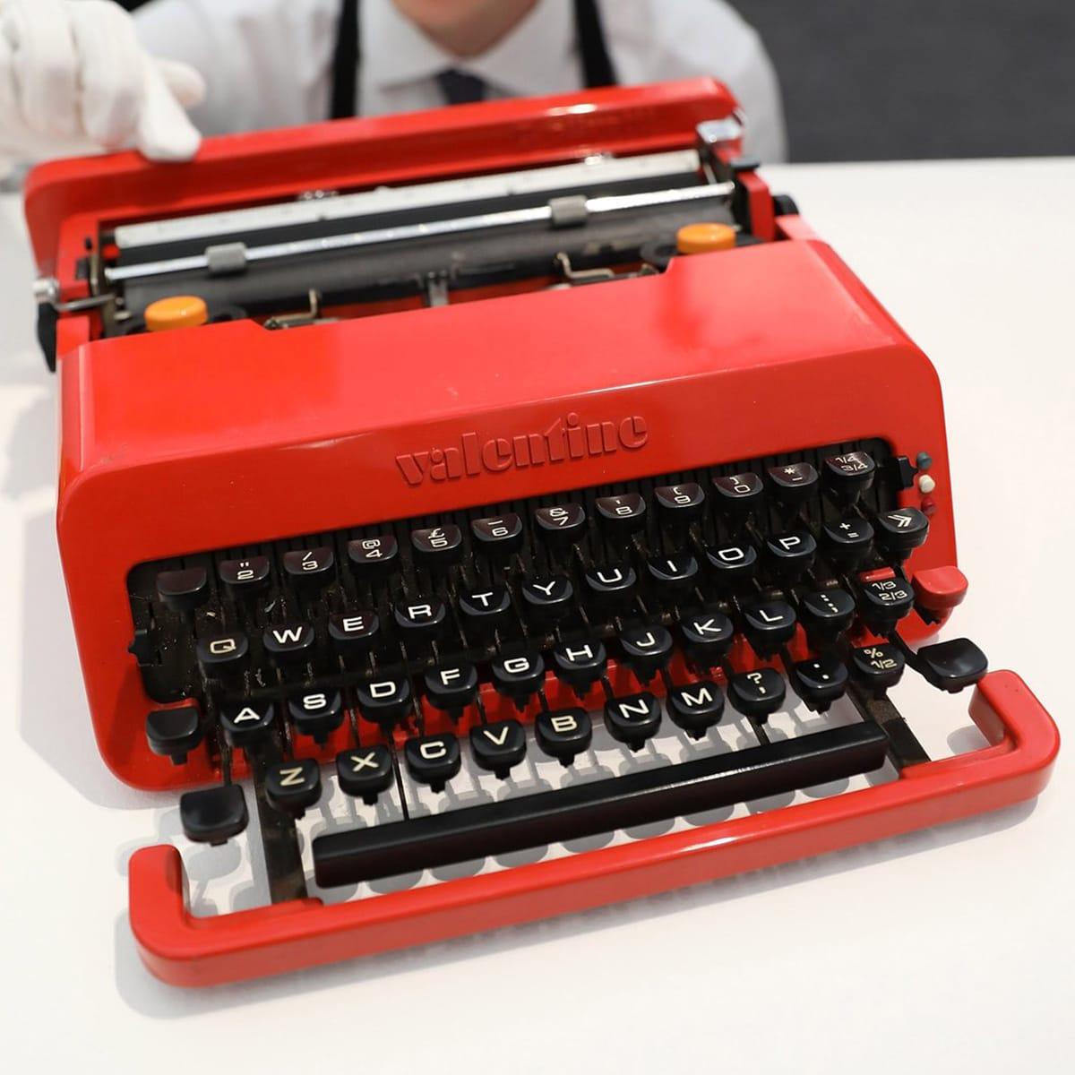 The Olivetti Valentine Typewriter, designed 1969.