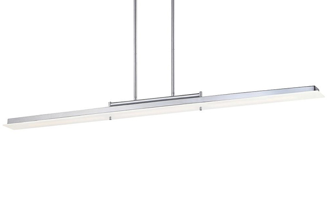Twist and Shout LED Linear Suspension by George Kovacs
