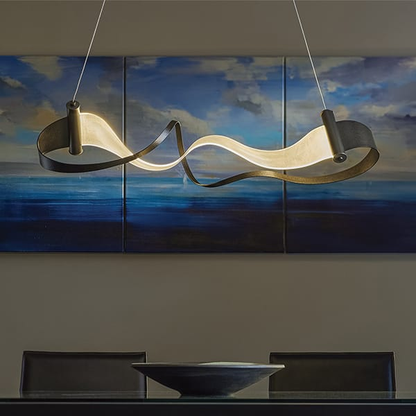 Zephyr LED Linear Suspension by Hubbardton Forge