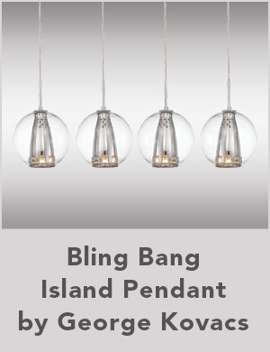 Bling Bang Island Pendant by George Kovacs