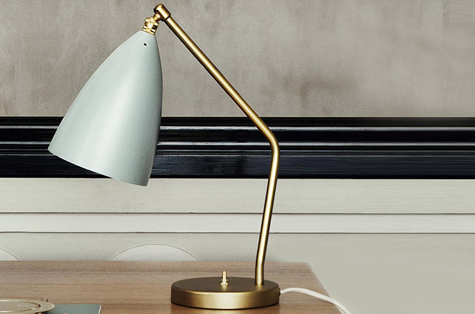 Grasshopper Table Lamp by Gubi