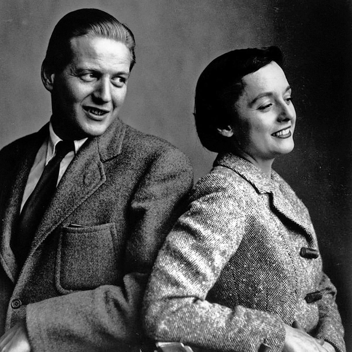 Hans G. Knoll & Florence Knoll, Courtesy of Knoll, Inc.
