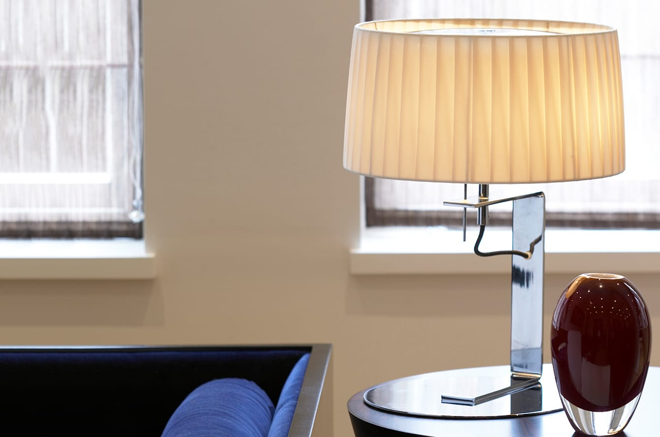 Divina Table Lamp By Contardi Lighting.