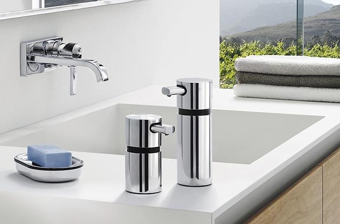 AREO Soap Dispenser by Blomus