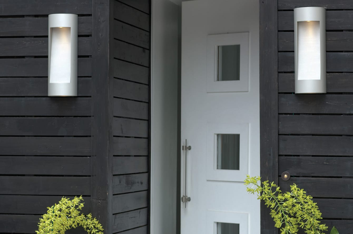 Luna Outdoor Wall Sconce by Hinkley Lighting.