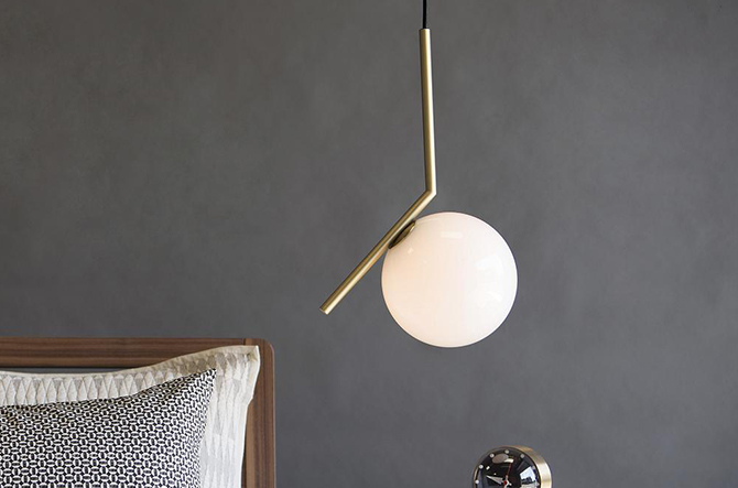 ebpeters design midcentury lighting brass home byron pendant light century product metal mid by antique