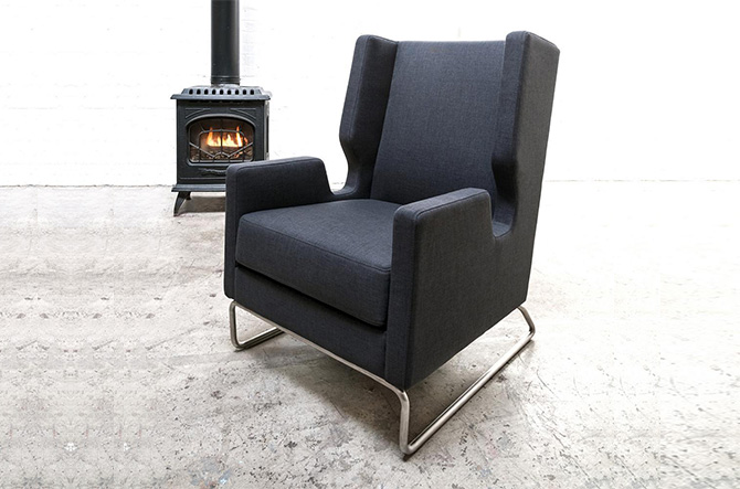 Danforth Chair by Gus Modern