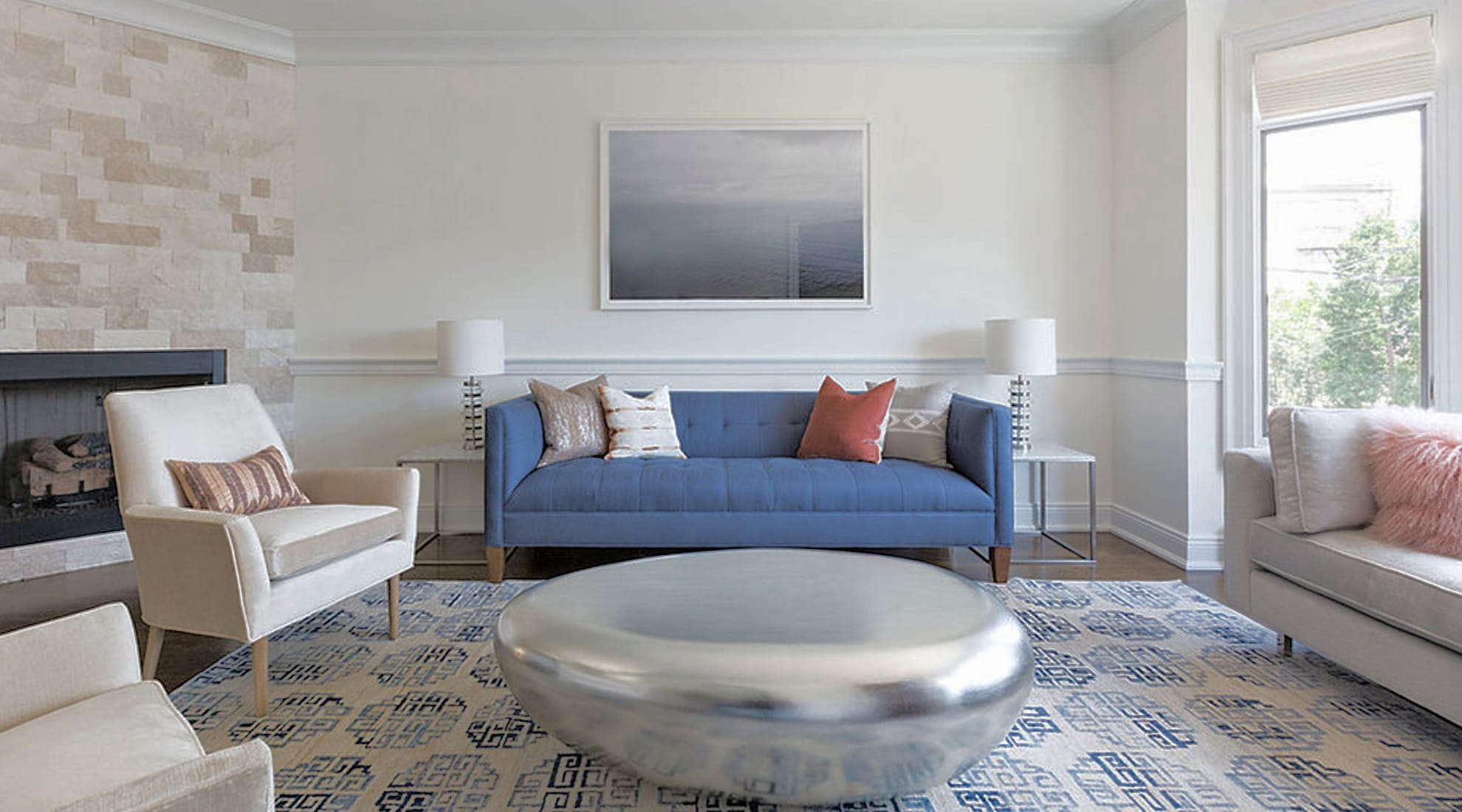 Edgewater Townhouse, New Jersey. Image via https://www.lunagreyinteriors.com/edgewater