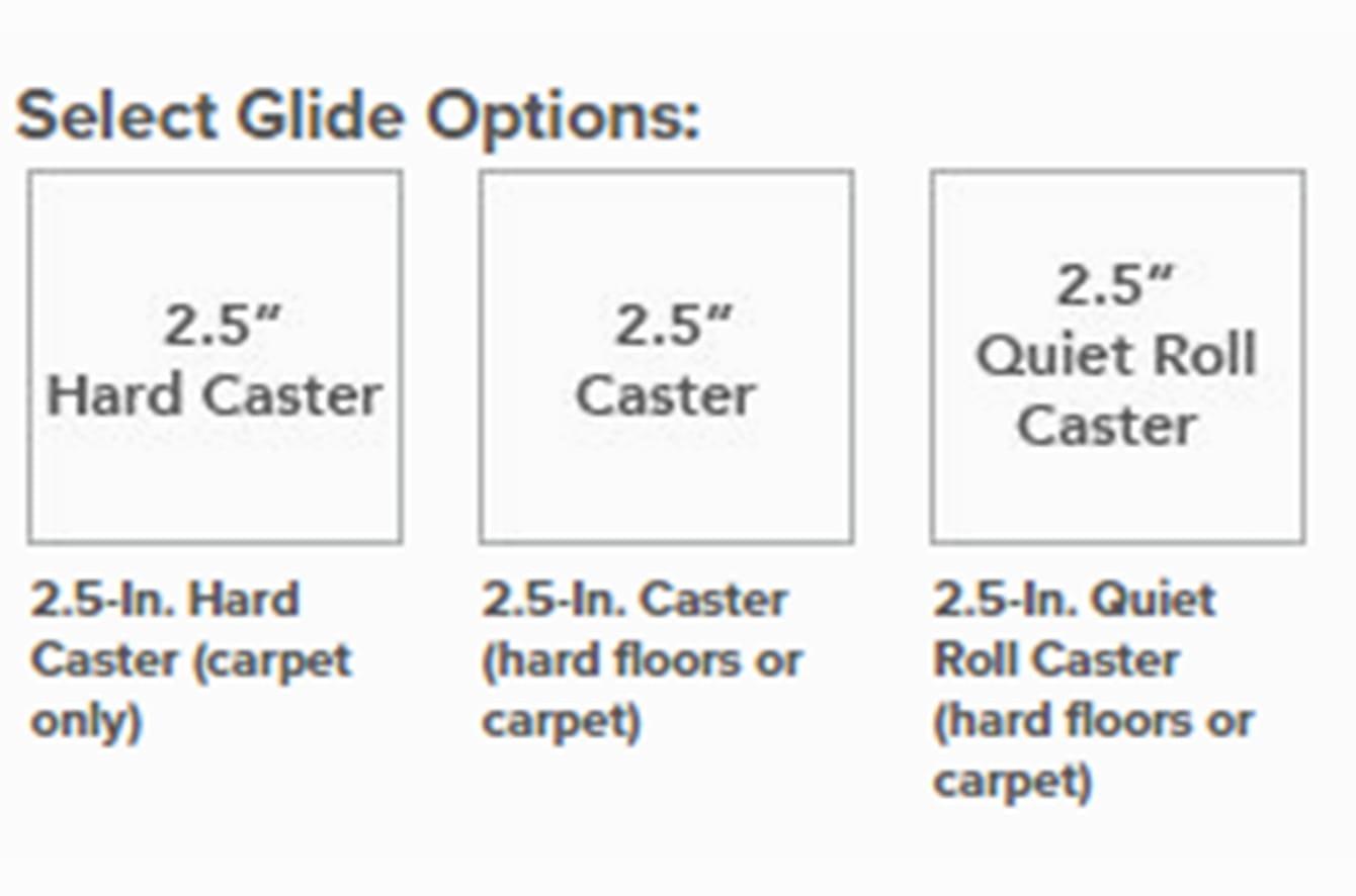 Aeron Collection Options - Glide Options