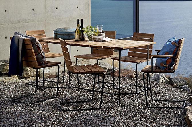 Grinda Chair/Armchair by Skargaarden