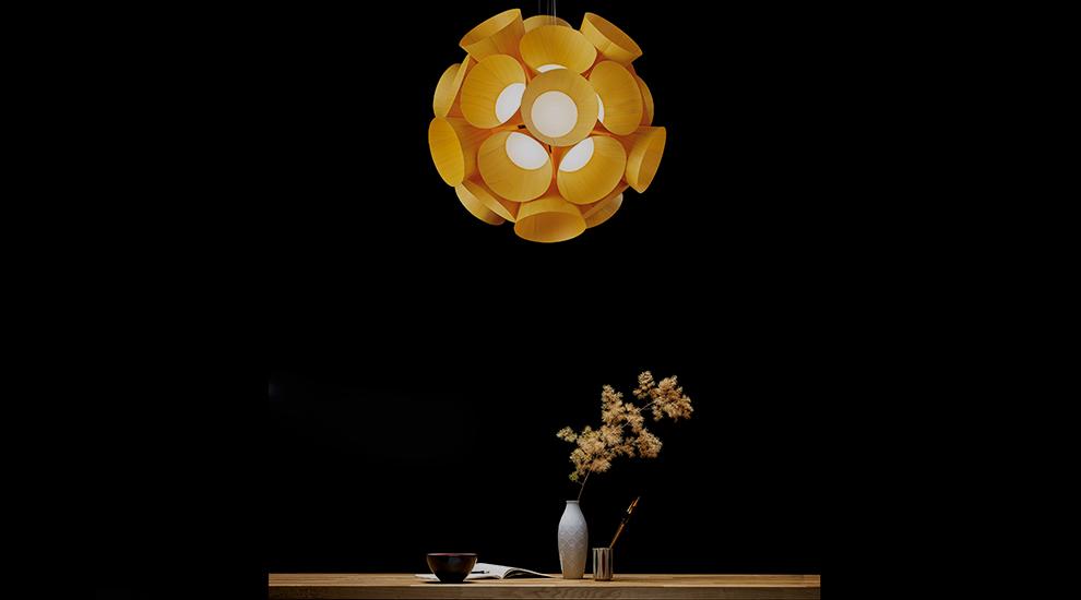 Dandelion Pendant by LZF