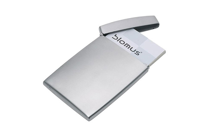 GENTS Flip Business Card Case by Blomus