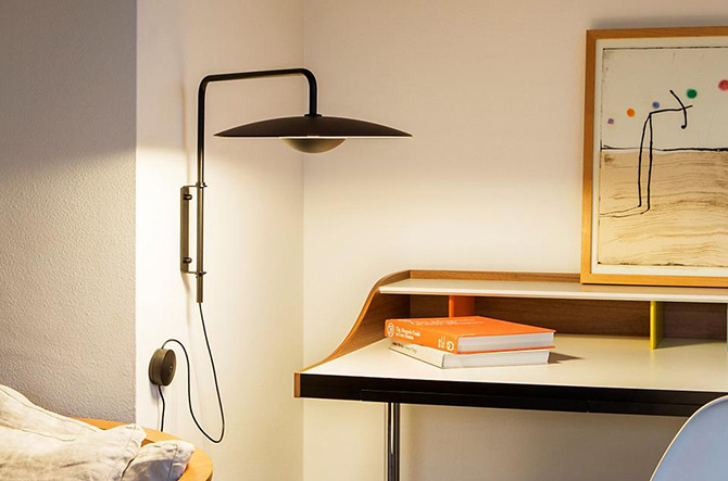 Ginger LED Wall Lamp by Joan Gaspar for Marset