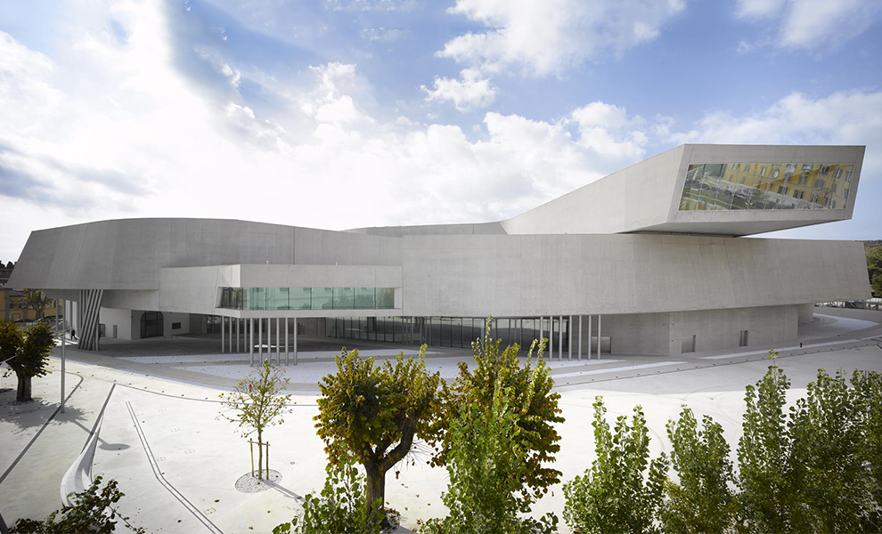 MAXXI: Museum of XXI Century Arts, Rome, Italy (completed 2009, winner of 2010 Stirling Award)