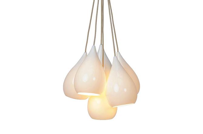 Drops One Cluster Multi-Light Pendant by Original BTC