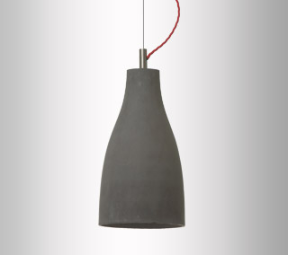Heavy Tall Pendant by Decode
