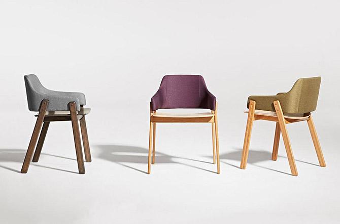 Clutch Dining Chair by Blu Dot