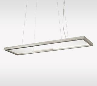 Vitre Rectangular Suspension by LBL Lighting