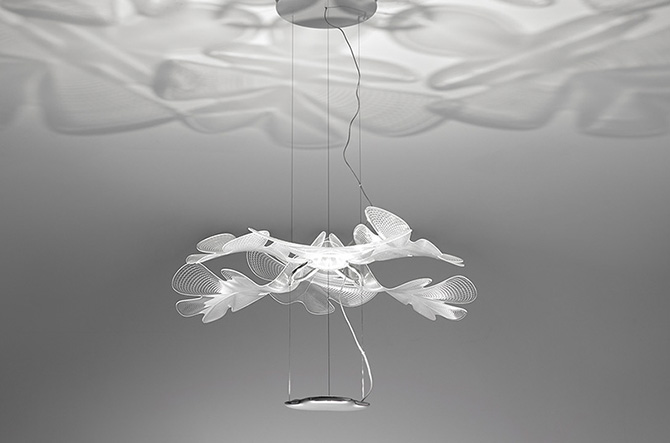 Chlorophilia LED Suspension by Artemide