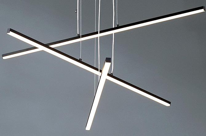 Stix LED Suspension by SONNEMAN Lighting.