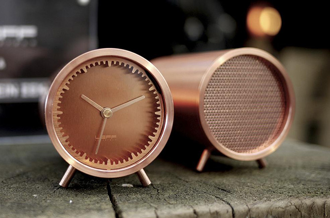 Tube Clock by Piet Hein Eek for LEFF Amsterdam