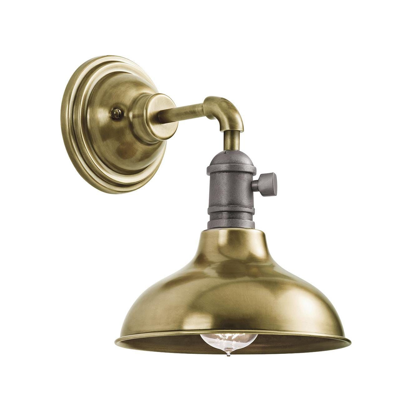 Cobson Mini-Pendant/Wall Sconce/Semi-flushmount by Kichler