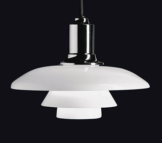 PH 2/1 Pendant By Poul Henningsen